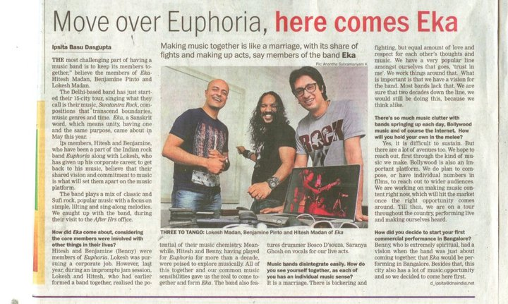 "EKA - ""Move over Euphoria, Here Comes EKA"" DNA: After Hours, Oct 2010"